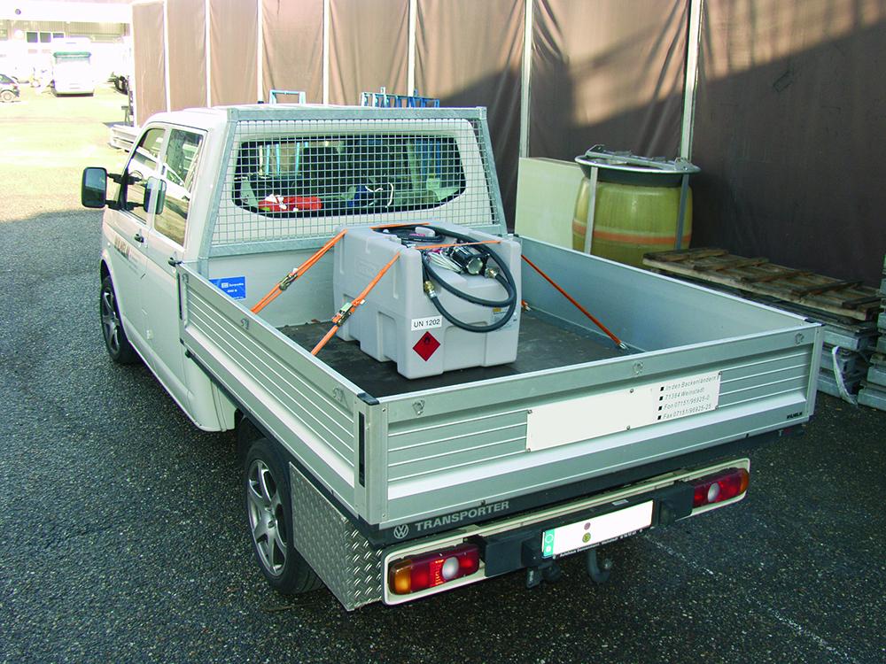 Der Mobile Dieseltank Als Wichtige Versorgungsstation Blog