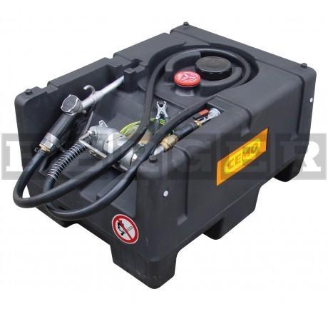 Benzintankanlage KS-Mobil Easy 190 l mit Elektropumpe 230V