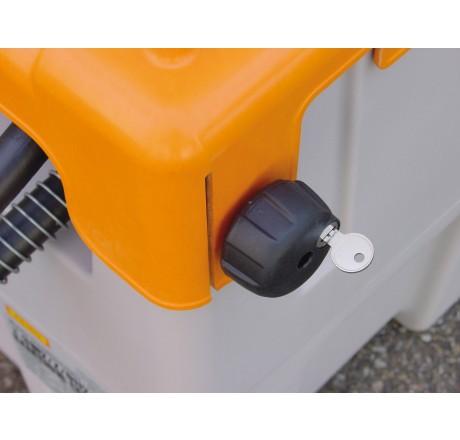 Klappdeckelverschluss für DT-Mobil Easy 120 / 200 Liter