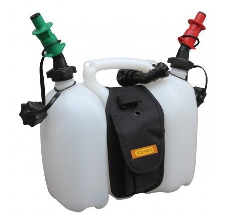 Doppelkanister Profi 6 Liter / 3 Liter