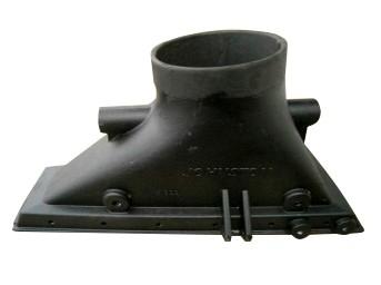 Kehrmaschinen Saugmund-Alu mit Gummierung