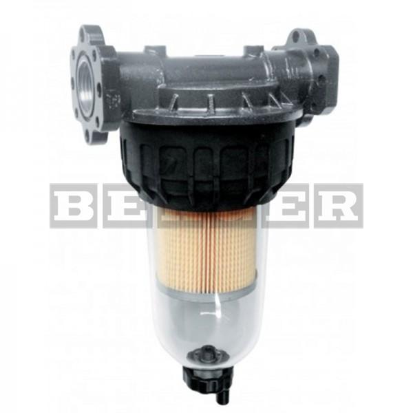 Filter mit Klarsichtbehälter max. 100 Liter pro Minute