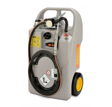Schmierstofftrolley mit Elektropumpe & Akku