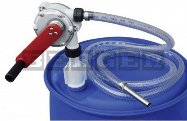 Kurbelpumpe für AdBlue® mit PVC Schlauch 3 m