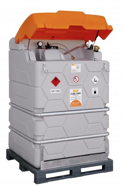 Cube Tank Mobil für mobile Heizgeräte und Generatoren