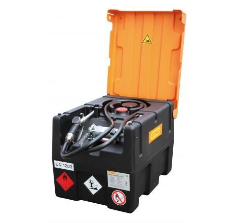 Benzintankanlage KS-Mobil Easy mit Elektropumpe 12V, Zapfpistole und Klappdeckel