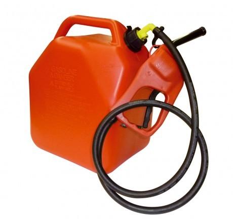 Kanister 25 Liter mit Zapfpistolenpumpe