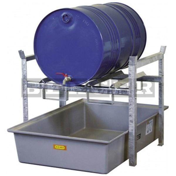 Fassregal Typ 400 für 60 oder 200 Liter Fässer und Kleingebinde