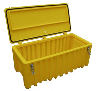 Werkzeugbox Cembox aus PE gelb
