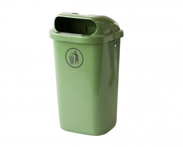 Müllbehälter komplett mit Haltevorrichtung 50 Liter