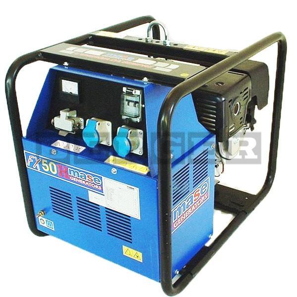 Stromerzeuger Mase FX 50 H/A mit Elektrostart