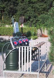 Friedhof Gießkannensystem