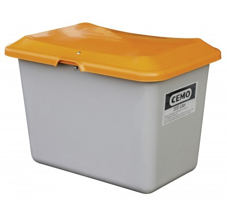 Streugutbehälter Plus3 grau/orange ohne Entnahme ohne Staplertasche