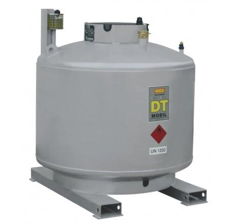 Dieseltank DT-Mobil doppelwandig lackiert ohne Pumpenhaube