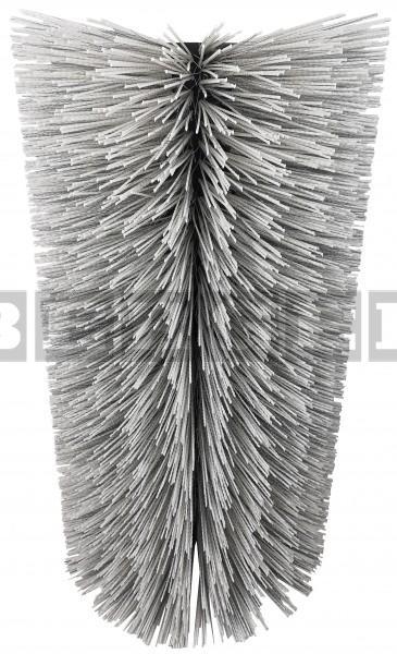 Kehrwalze für Kehrmaschinen Ø570 x 1000mm Mischbesatz Kunststoff Welldraht