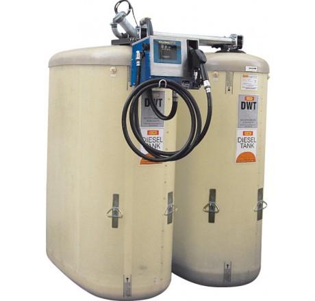 Dieseltankstation DWT-Sicherheitspaket 4700 Liter