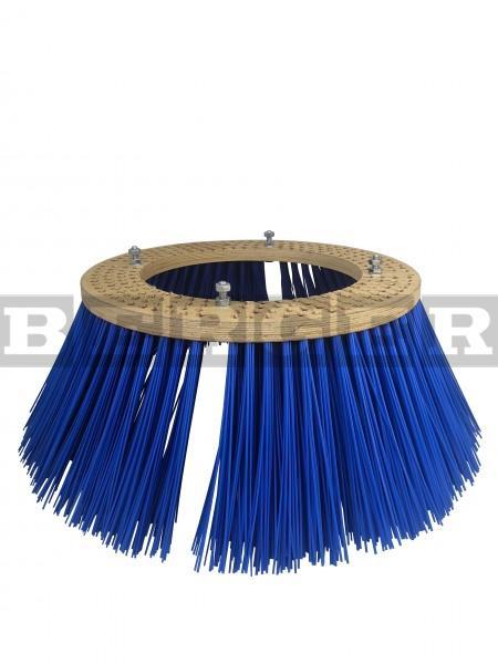 Tellerkehrbesen Ø700mm PP blau