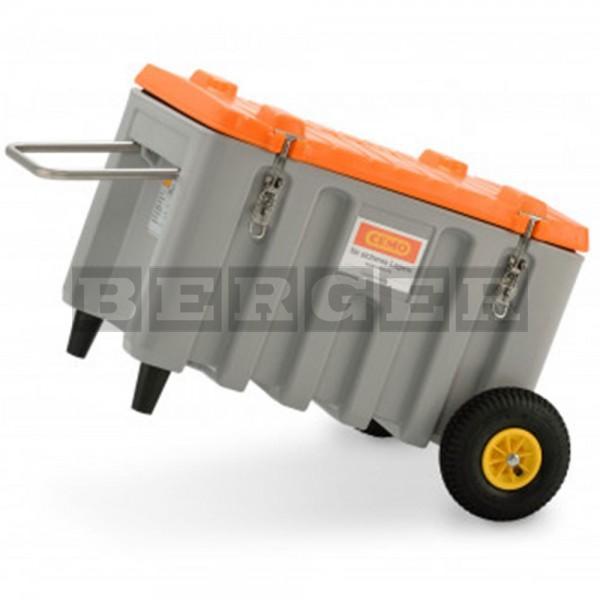 Offroad Werkzeugbox Trolley 150 l grau/orange
