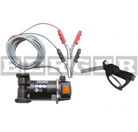 Elektropumpe Cematic 3000/24 für Diesel mit Zubehör