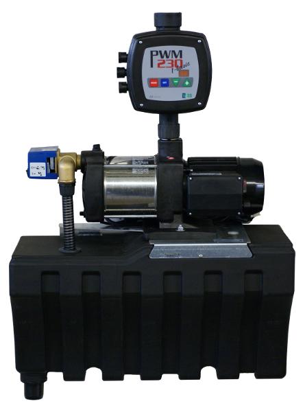 Regenwasserzentrale SuperRain Inox 5-35
