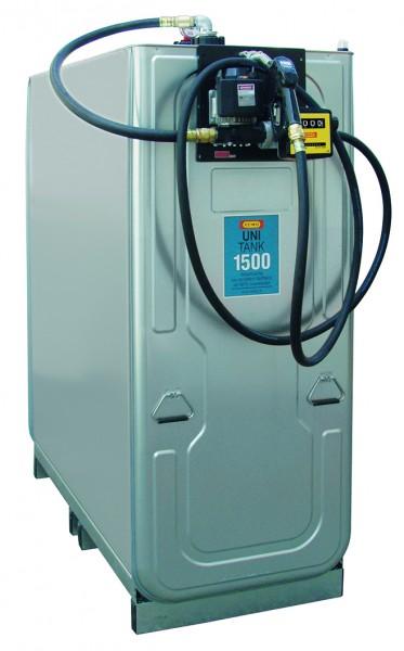 Dieseltankanlage mit Uni-Tank 1500 Liter