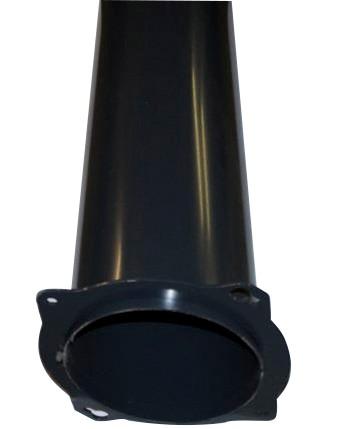 Kehrmaschinen Einlaufrohr DM 260 x L 970mm/90°