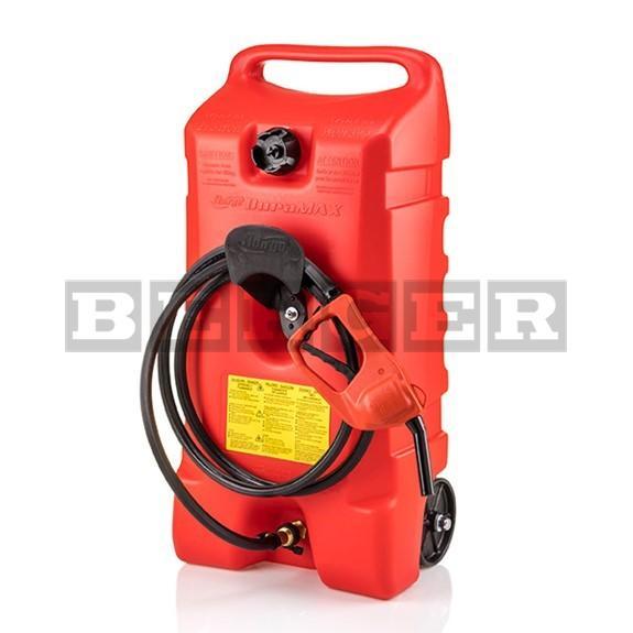 Kraftstofftrolley 53 Liter mit Zapfpistolenpumpe