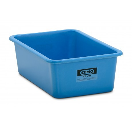 GFK Rechteckbehälter blau
