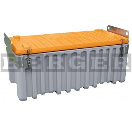 Werkzeugbox Cembox kranbar aus PE grau/orange