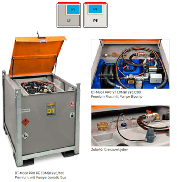 DT-Mobil PRO Combi Diesel & AdBlue® Tank