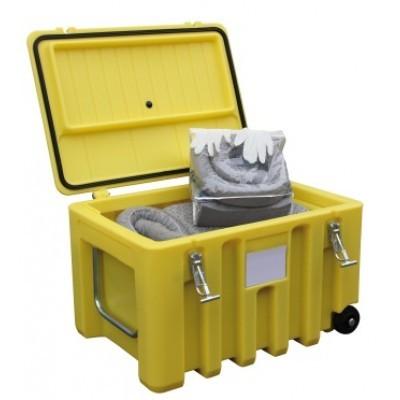 Werkzeugbox Cembox Trolley aus PE gelb