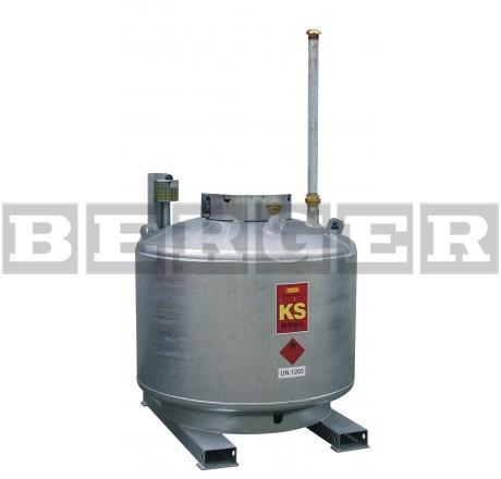 Kraftstoffanlage KS-Mobil doppelwandig ohne Pumpenhaube
