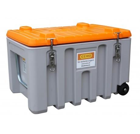 Werkzeugbox Cembox Trolley aus PE grau/orange