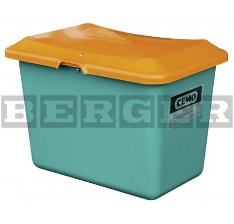 Streugutbehälter Plus3 grün-orange ohne Entnahme ohne Staplertaschen