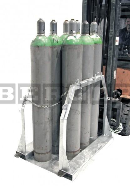 Stahlflaschen-Palette Typ SFP