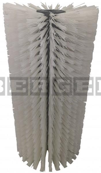 Kehrwalze für Kehrmaschinen Ø400 x 800mm Nylon weiß