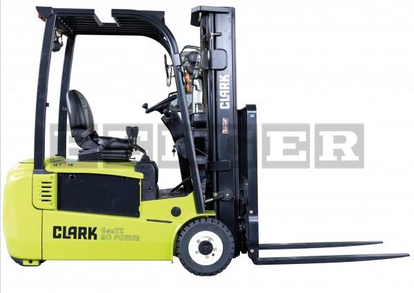 Clark 3 Rad Elektrogabelstapler GTX 16/18/20s