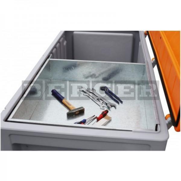 Einlegeschale aus Metall für Cembox 750 Liter
