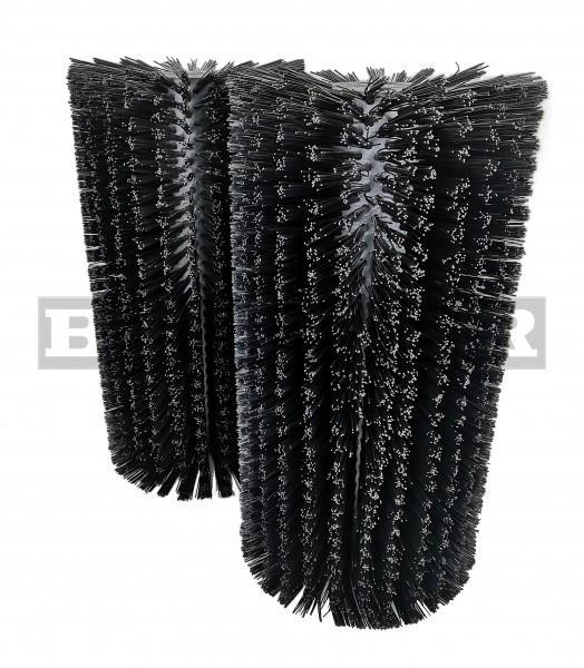 Kehrwalzensatz für Kehrmaschinen je Ø400 x 750mm Kunststoff schwarz