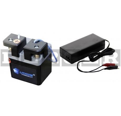 Akkusysteme, Li-Power-Block mit Ladegerät