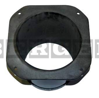 Kehrmaschinen Rohrflansch gummiert L270 mm