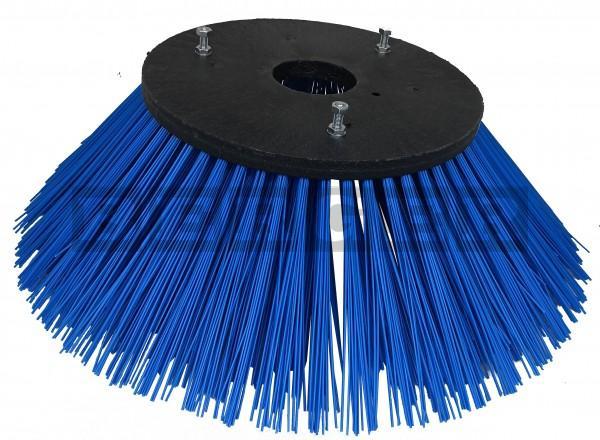 Tellerkehrbesen Ø700mm Kunststoff blau