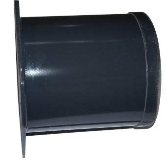 Kehrmaschinen Rohrflansch L 270mm