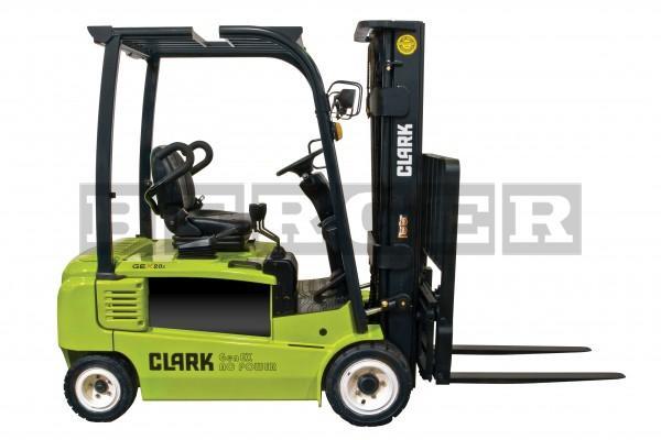 Clark Elektrogabelstapler GEX 16/18/20s