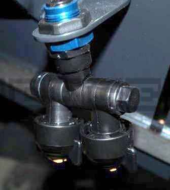 Kehrmaschinen Düsenset für Tellerbesen