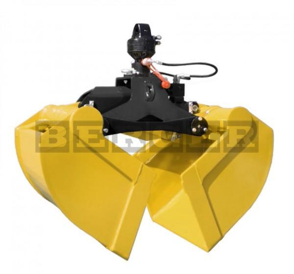 Kran Zweischalengreiferpaket mit Rotator