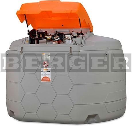 Cube Dieseltank Tankanlage Outdoor Premium Plus & Sim 5000 Liter