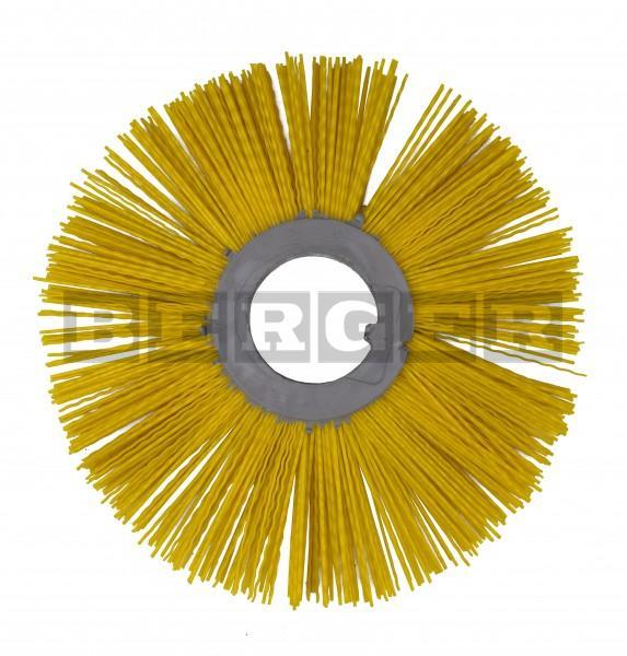 Scheibenbesen für Kehrmaschinen Ø320mm Kunststoff