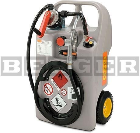 Dieseltrolley mit Handpumpe und Zapfventil