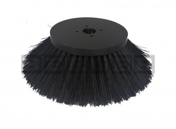 Tellerkehrbesen Ø450mm Kunststoff schwarz